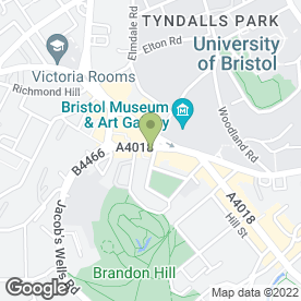 Map of Rocotillos in Clifton, Bristol, avon
