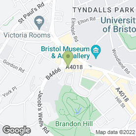 Map of Yoyo Foods Ltd in Bristol, avon