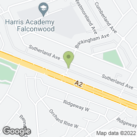 Map of Zeus Fabrications in Welling, kent