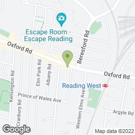 Map of Electro in Reading, berkshire