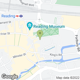 Map of FORBURYS RESTAURANT & WINE BAR in Reading, berkshire