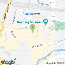 Map of Anglian Home Improvements (Anglian Windows Ltd) in READING, berkshire