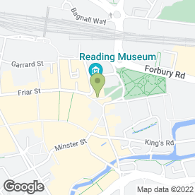 Map of Blandy & Blandy in Reading, berkshire