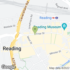 Map of K3 in READING, berkshire