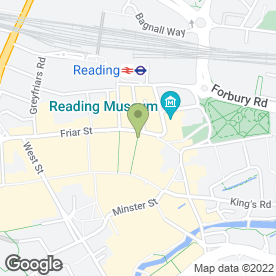 Map of Charles Coleman & Co in Reading, berkshire