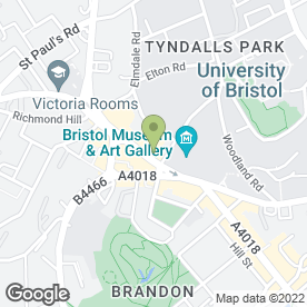 Map of Vodafone Ltd in Clifton, Bristol, avon