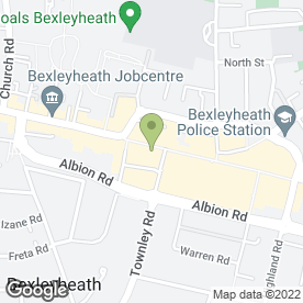 Map of Millets in Bexleyheath, kent