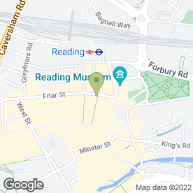 Map of Capitol Commercial Relocations Ltd in Reading, berkshire