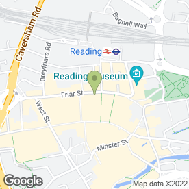 Map of WHSmith High Street in Reading, berkshire