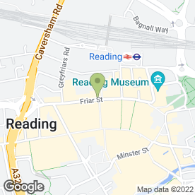 Map of Delivery Kings (Reading) in Reading, berkshire