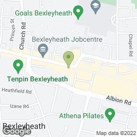 Map of Pizza Hut (UK) Ltd in Bexleyheath, kent