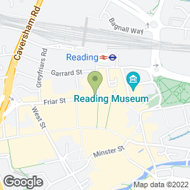 Map of Nationwide Building Society in Reading, berkshire