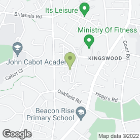 Map of Bristol Welding & Sheet Metal Work in Kingswood, Bristol, avon