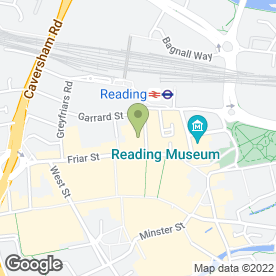 Map of Davina's News & Off Licence in Reading, berkshire