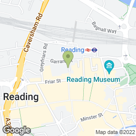 Map of Connect Reading in Reading, berkshire