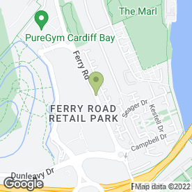 Map of Clarks in CARDIFF, south glamorgan