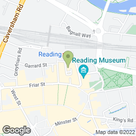 Map of Reading Digital in Reading, berkshire