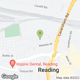 Map of R.A. Engineering in Reading, berkshire