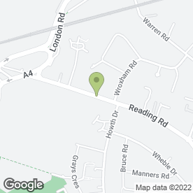 Map of Propave in Woodley, Reading, berkshire