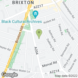 Map of Brixton Aerials & Satellites in London, london