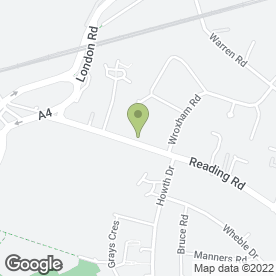 Map of Garden Creations in Woodley, Reading, berkshire