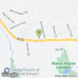 Map of Allodi Accordions Ltd in Lewisham, London, london