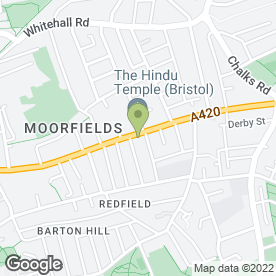 Map of House & Co Estate Agents in Redfield, Bristol, avon