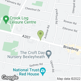 Map of C & D Restoration Ltd in Bexleyheath, kent