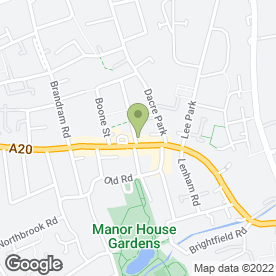 Map of M & M Glazing Carpentry & Door Services in Lewisham, london
