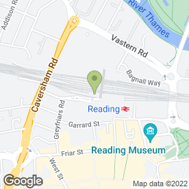 Map of WHSmith Europe Travel Retail in Reading, berkshire