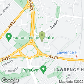 Map of MD Taxis in Easton, Bristol, avon