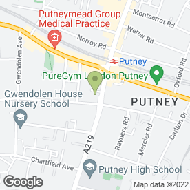 Map of Putney Aerial & Satellite Services in London, london