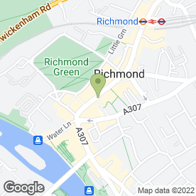 Map of Blue Skies Recruitment in Richmond, surrey