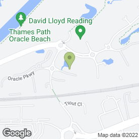 Map of Avis Rent A Car in Reading, berkshire