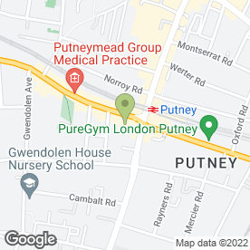Map of Fox in Putney, London, london