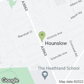Map of Diamond Move in Hounslow, middlesex