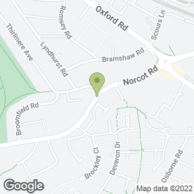 Map of AP Media in Tilehurst, Reading, berkshire