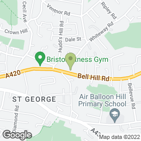 Map of Neava Mansfield Beauty Therapists in Bristol, avon