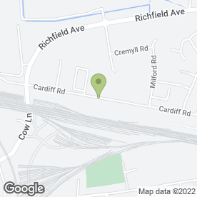 Map of Fibreastics Ltd in Reading, berkshire
