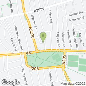 Map of Soprano for Weddings in London, london