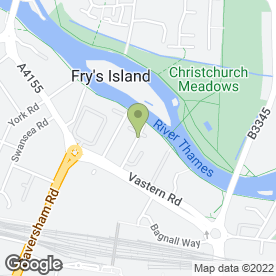 Map of Paws in Reading, berkshire