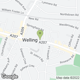 Map of Timpson Locksmith & Safe Engineers in Welling, kent