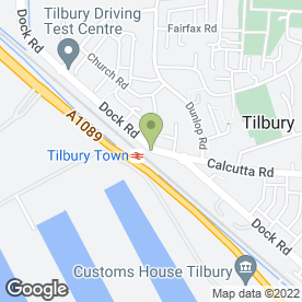 Map of Stop 'N' Go Ltd in Tilbury, essex