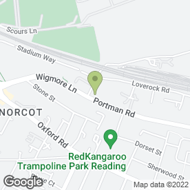 Map of Access Self Storage in Reading, berkshire