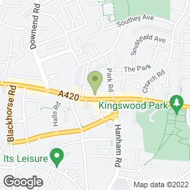 Map of Beauty Within in Kingswood, Bristol, avon