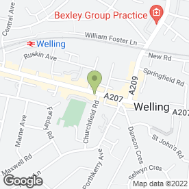 Map of Xpress Plastering Ltd in Welling, kent