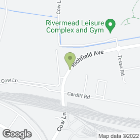 Map of Brandon Tool Hire in Reading, berkshire