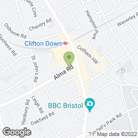 Map of Thomas Retail in Clifton, Bristol, avon