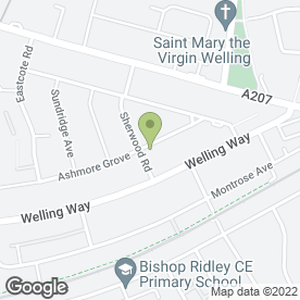 Map of T.G Skinner in Welling, kent