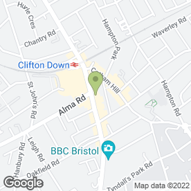 Map of Avalon Beauty in Bristol, avon